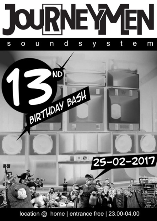 Journeymen 13 Birthday
